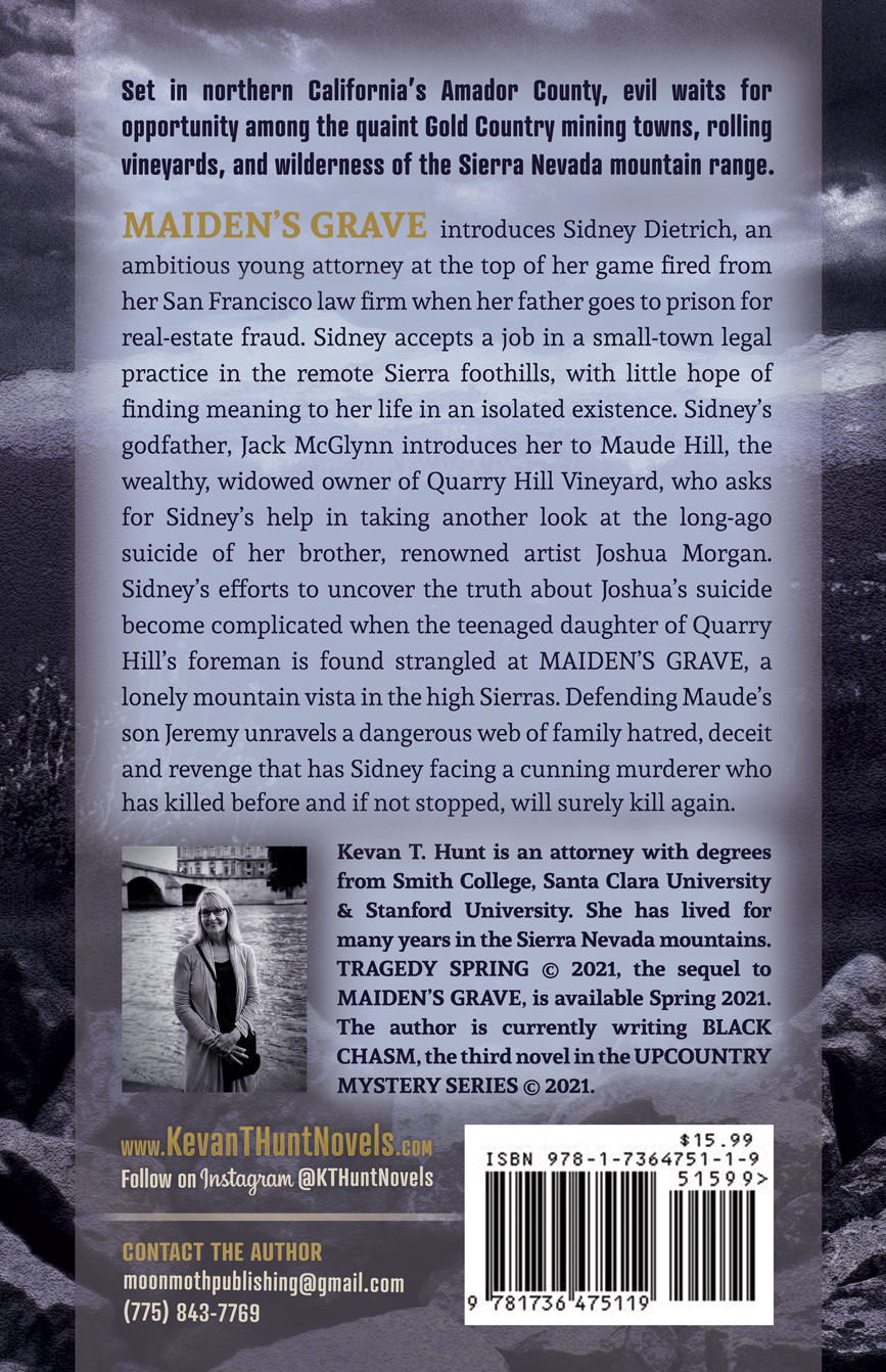 Maiden's Grave Back Cover